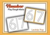 Playdough Mats - Numbers (0-30)