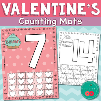 Valentines Day Math Kindergarten