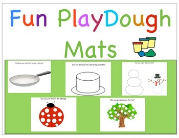 Playdough Mats Pre-School and Kinder!