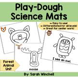 Playdough Mats Science Forest Animals Preschool Pre-K and