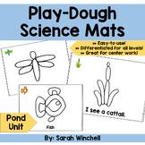 Playdough Mats Science Pond Life Preschool Pre-K and Kinde