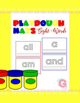 Playdough Mats - Sight Words