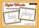 Playdough Mats Sight Words