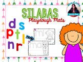 Playdough Mats {Sílabas con p,d,l,r,s,n,t} SPANISH ONLY