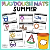Playdough Mats Summer