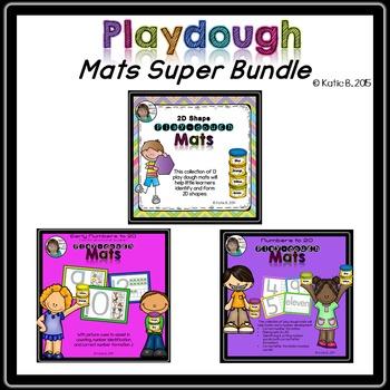 Playdough Mats Super Bundle