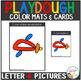 Playdough Mats & Visual Cards: Alphabet Pictures Bundle