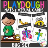 Playdough Mats & Visual Cards: Bug Set