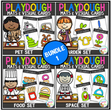 Playdough Mats & Visual Cards: Bundle 1