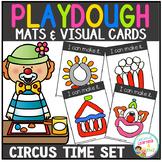 Playdough Mats & Visual Cards: Circus Time
