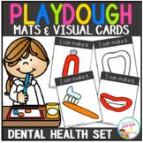 Playdough Mats & Visual Cards: Dental Health  Set