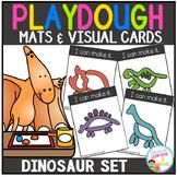 Playdough Mats & Visual Cards: Dinosaur Set