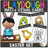 Playdough Mats & Visual Cards: Easter Set