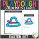 Playdough Mats & Visual Cards: Easter Set