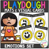 Playdough Mats & Visual Cards: Emotions