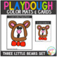 Playdough Mats & Visual Cards: Fairy Tale - Goldilocks & the Three Little Bears