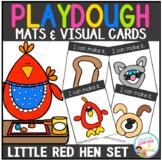 Playdough Mats & Visual Cards: Fairy Tale - Little Red Hen