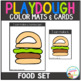 Playdough Mats & Visual Cards: Food Set