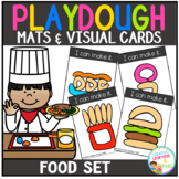 Playdough Mats & Visual Cards: Food Set