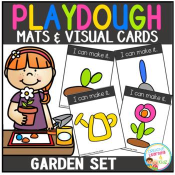 Playdough Mats & Visual Cards: Garden Set