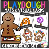 Playdough Mats & Visual Cards: Gingerbread Set