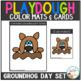 Playdough Mats & Visual Cards: Groundhog Day Set