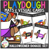 Playdough Mats & Visual Cards: Halloween Doggie