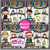Playdough Mats & Visual Cards: Holiday Bundle