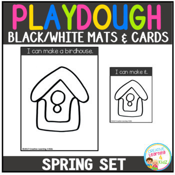 Playdough Mats & Visual Cards: Seasons Bundle