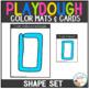 Playdough Mats & Visual Cards: Shape Set