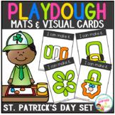 Playdough Mats & Visual Cards: St. Patrick's Day  Set