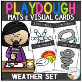 Playdough Mats & Visual Cards: Weather Set