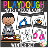 Playdough Mats & Visual Cards: Winter Set