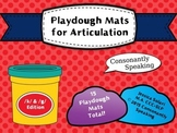 Playdough Mats for Articulation: K & G Edition