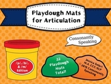 Playdough Mats for Articulation: P B & M Edition