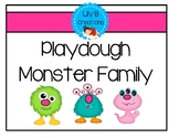 Playdough Monster Family Mats