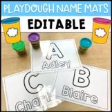 Playdough Name Mats - Editable