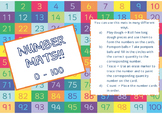 Playdough Number Mats 0 to 100!