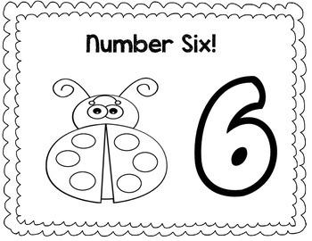 Playdough Number Mats