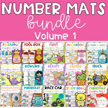Playdough Number Mats - GROWING BUNDLE