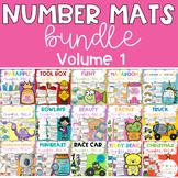 Playdough Number Mats BUNDLE - Volume 1