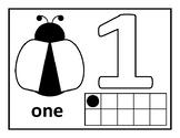 Playdough – Number Mats {Lady Bug Theme - MATH}