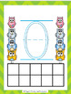 Owl Playdough Number Mats {Numbers 0-20}