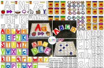 Playdough Pack: Alphabet Activities!