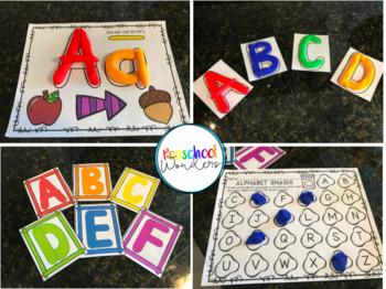 Playdough Pack: Math, Literacy, and Fine Motor Fun!