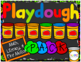 Playdough Pack: Math, Literacy, and Fine Motor Fun!