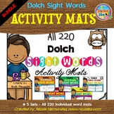 Playdough (Playdoh) All Dolch 220 Sight Words Moulding (Mo