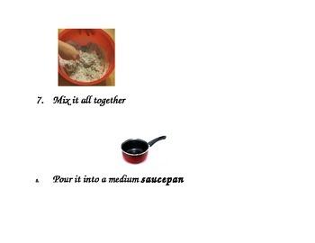 Playdough Rebus Recipe