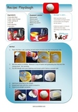 Playdough Recipe - Photographic steps and clear instructions.
