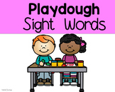 Playdough Sight Words
